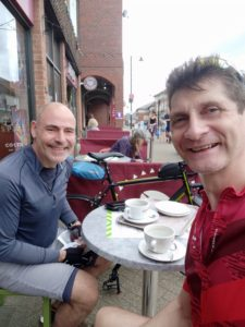 Coffee stop in Crowthorne